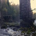 Финская плотина на Киркуйоки