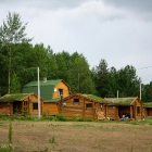 Ууксу административный дом и гостевые домики