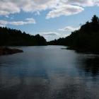 Ууксу вид на реку